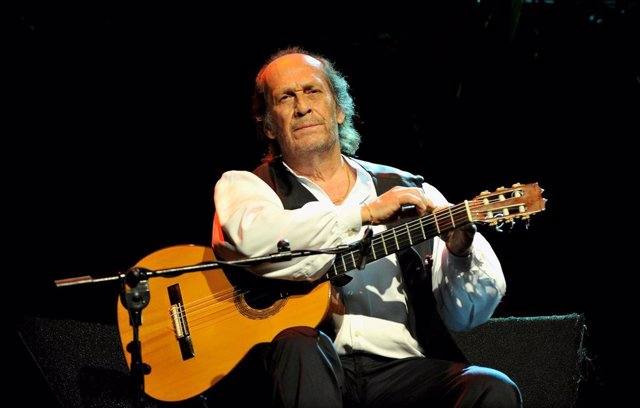 Paco de Lucia Performs in Concert in Madrid