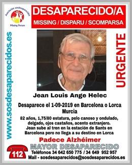 Cerquen un home de 82 anys amb alzheimer que viatjava amb tren de Barcelona a Lorca