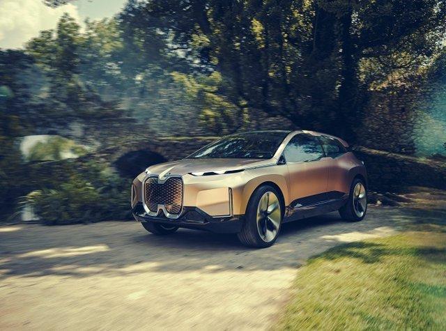 Prototipo de vehículo autónomo de BMW