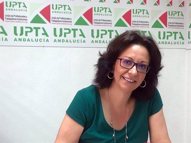 La secretaria general de UPTA-A, Inés Mazuela.
