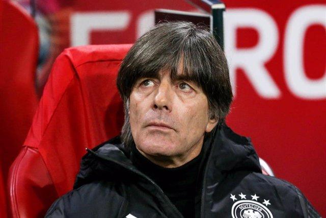 El seleccionador nacional alemán Joachim Low durante el Holanda-Alemania