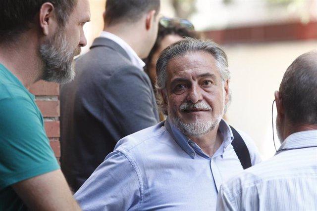 Imagen de recurso del portavoz del PSOE en el Ayuntamiento de Madrid, Pepu Hernández.