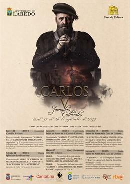 Cartel de las Jornadas culturales de Carlos V