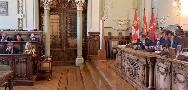 Pleno municipal del Ayuntamiento de Valladolid Septiembre 2019.