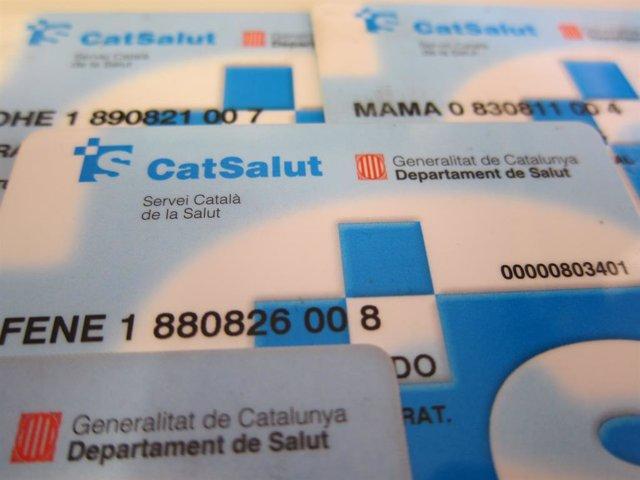 Tarjeta sanitaria. Tarjetas sanitarias Cataluña. CatSalut.