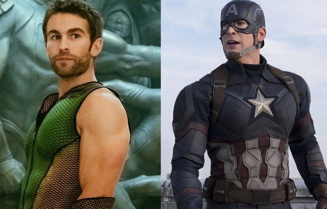The Deep en The Boys y Capitán America en Marvel
