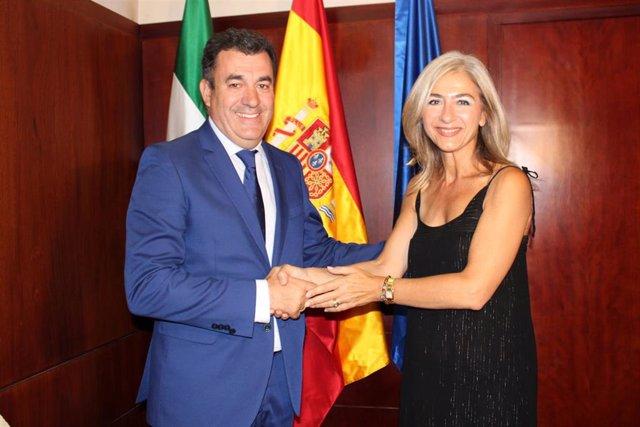 Nota Y Foto Encuentro Consejeros Cultura Andalucía Y Galicía