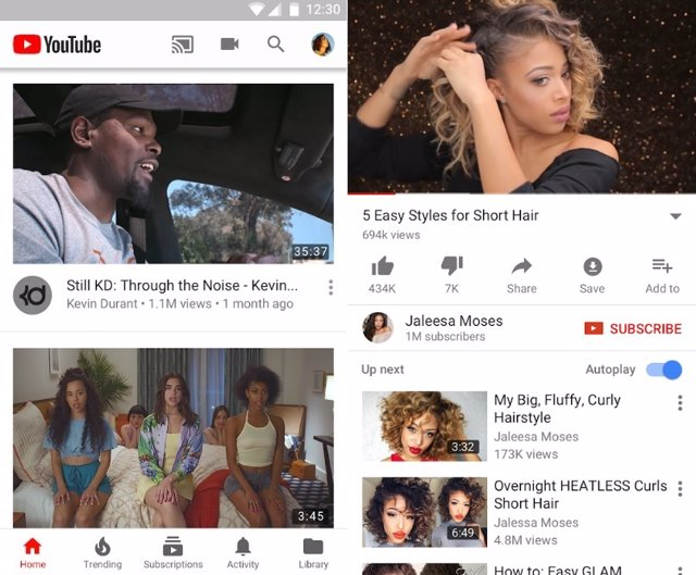 Capturas de YouTube para Android