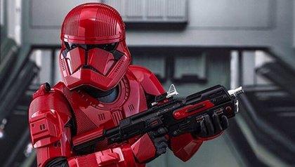 Imponentes imágenes de los Sith Troopers de Star Wars 9: The Rise of Skywalker