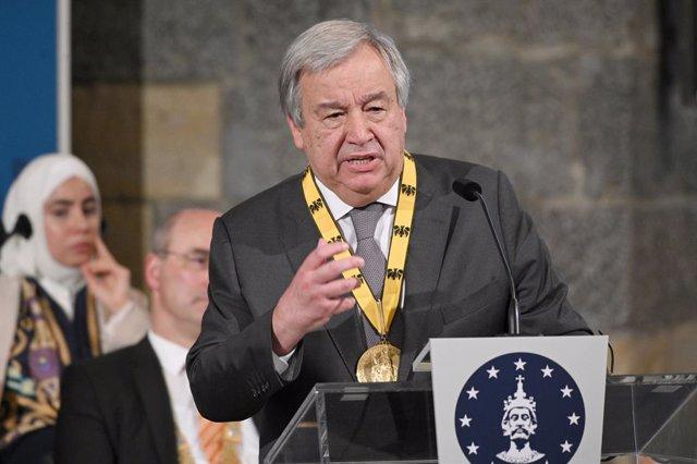 Guatemala.- Guterres espera que la lucha contra la impunidad continúe en Guatema