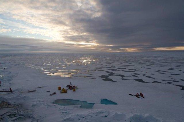 Imagen de archivo del Ártico.