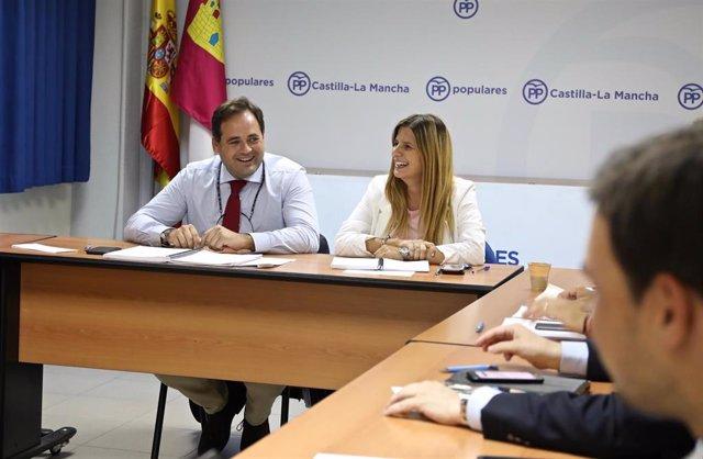 Pp Clm (Cortes De Voz Y Fotografías) Paco Núñez Preside El Comité De Dirección Del Pp De Castilla La Mancha.