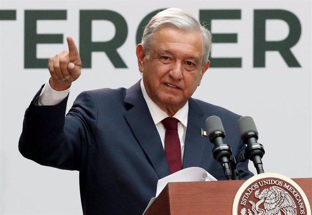 El presidente de Méxio, Andrés Manuel López Obrador