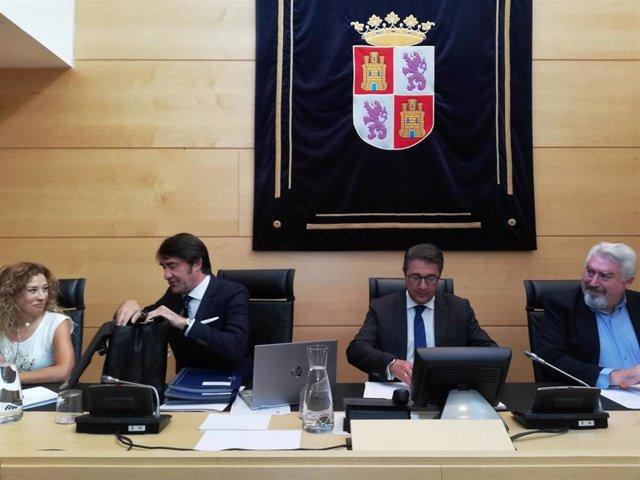 Suárez-Quiñones en su comparecencia de legislatura en las Cortes