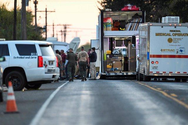 EEUU.- El autor del tiroteo de Texas compró el fusil en una venta privada porque tenía prohibido comprar armas