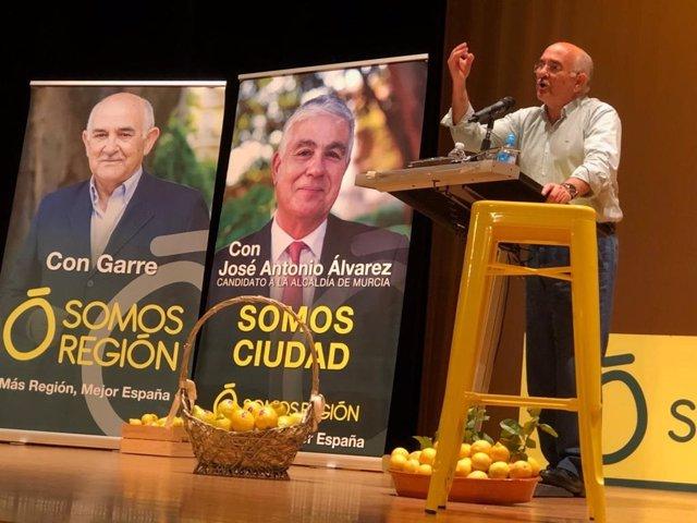 Alberto Garre, Somos Región
