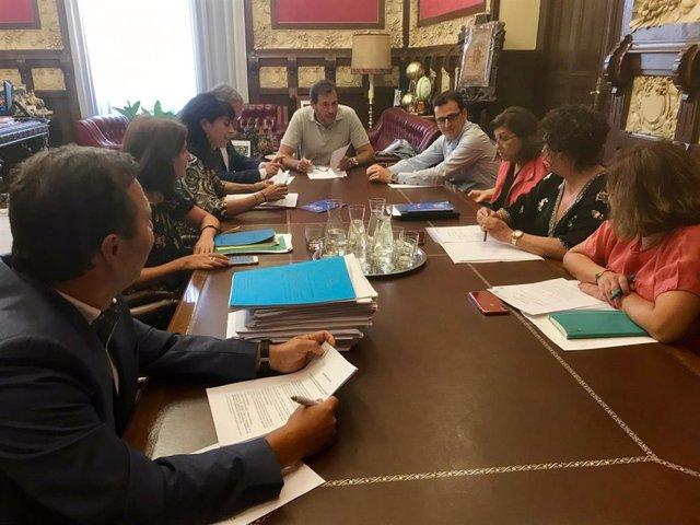 Junta de Gobierno del Ayuntamiento de Valladolid.