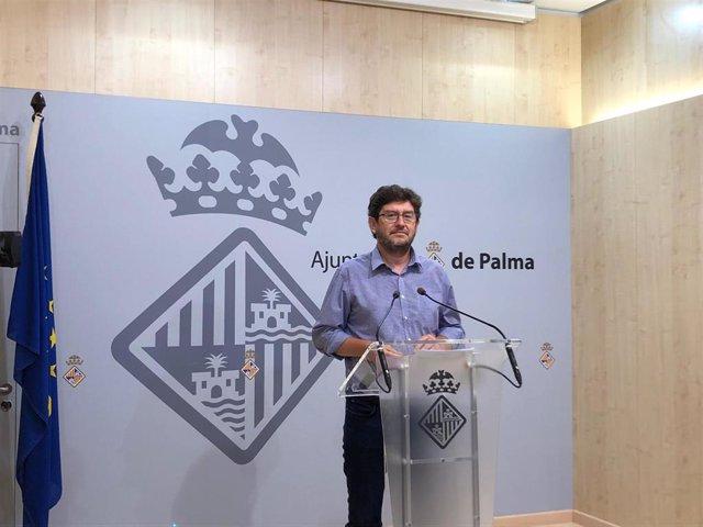 El portavoz del equipo de gobierno del Ayuntamiento de Palma, Alberto Jarabo.