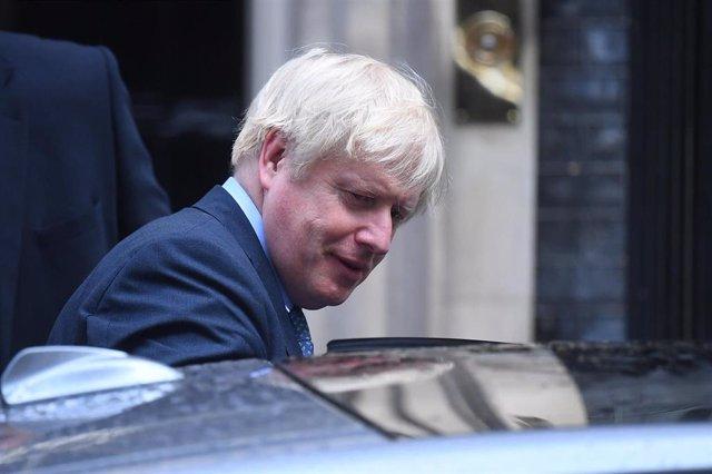 El primer ministro de Reino Unido, Boris Johnson