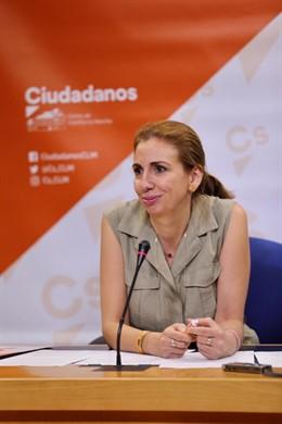 La diputada de Cs en las Cortes de C-LM Úrsula López