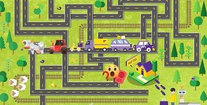 ¿Puedes calcular la ruta más rápida al aeropuerto? Este juego te pone a prueba