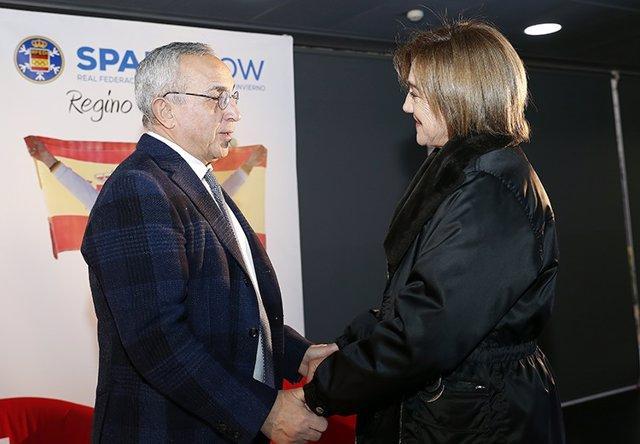 Alejandro Blanco y Blanca Fernández