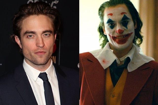 Robert Pattinson, el nuevo Batman, y Joaquin Phoenix, el nuevo Joker