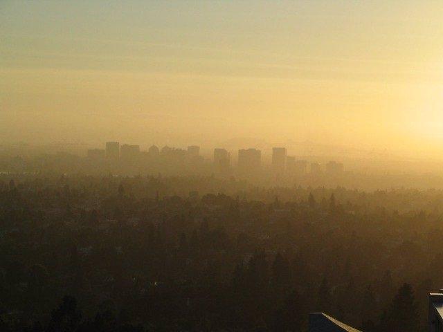 Contaminación, ciudad