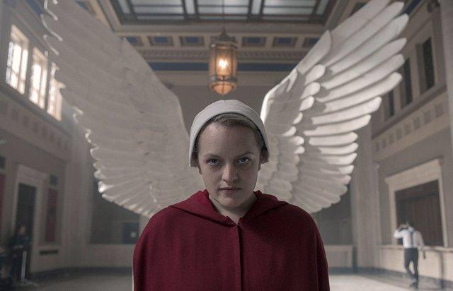Imagen de Elisabeth Moss en El cuento de la criada