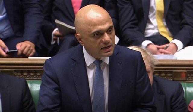 Sajid Javid, en la Cámara de los Comunes