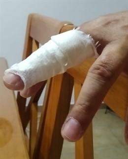 Lesiones de un funcionario de prisiones tras sufrir la agresión de un interno en Puerto I