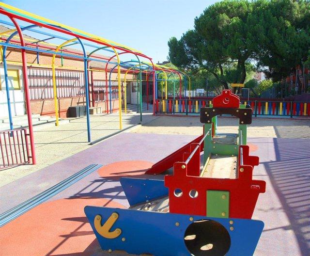 Imagen de un colegio de Alcobendas