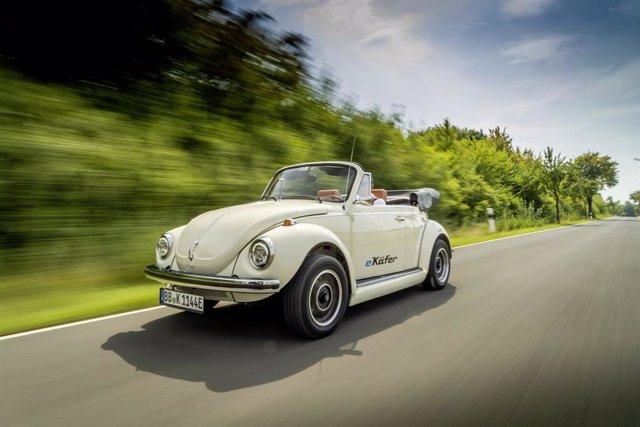 Volkswagen Beetle clásico electrificado