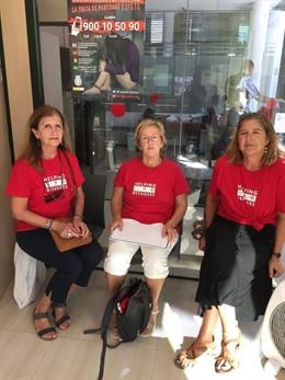 Voluntàries de SOS Refugiats Eivissa.