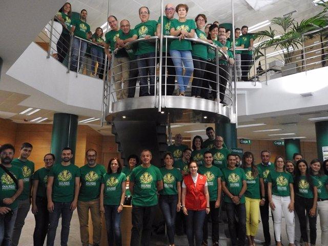 Día de la Camiseta de Caja Rural de Soria.