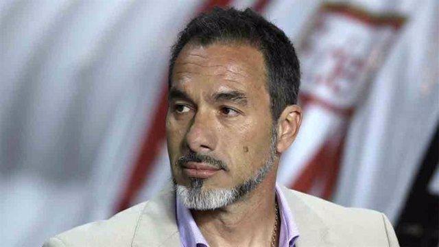 El entrenador uruguayo Gustavo Matosas, seleccionador de fútbol de Costa Rica