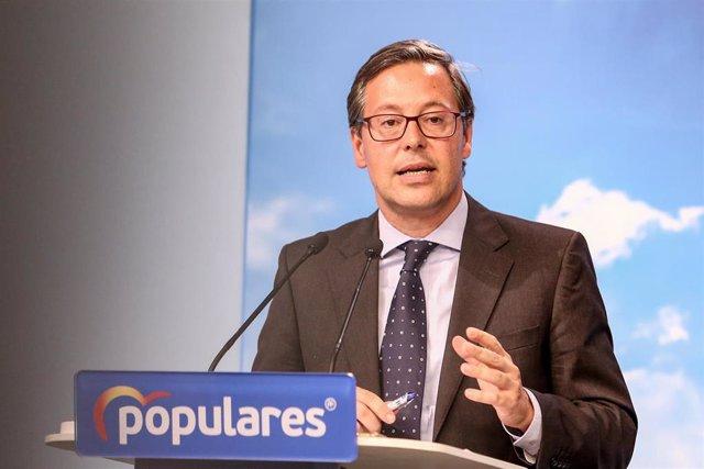 Imagen de archivo del diputado Alfonso Serrano
