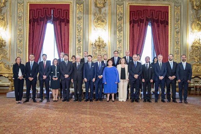 Italia.- El nuevo Gobierno de Conte toma posesión tras la alianza entre el M5S y