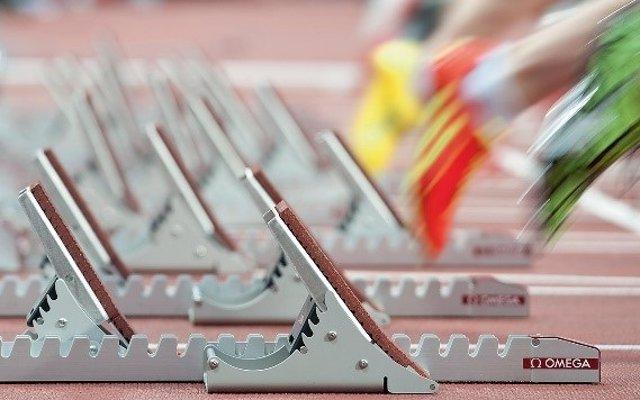 Atletismo.- Omega empleará su sistema de seguimiento real en el cronometraje en