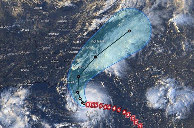 Trayectoria del huracán 'Dorian'