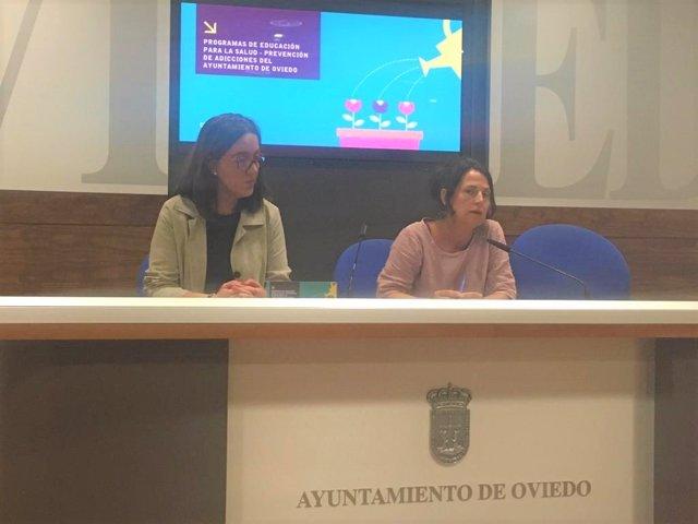 Presentación de los programas de educación para salud y prevención de adicciones del Ayuntamiento de Oviedo