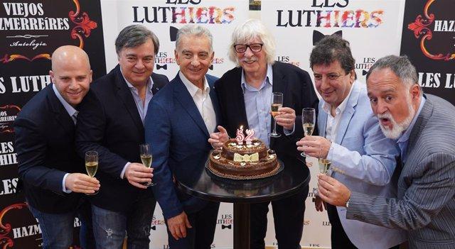 Sevilla.- The Luthiers llegan este viernes a la capital con 'Viejos Hazmerreíres