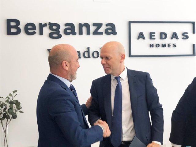 AEDAS Homes firma un acuerdo de patrocinio con el equipo de rugby VRAC Entrepinares de Valladolid