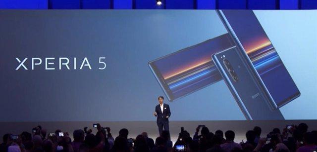 Sony presenta el nuevo móvil Xperia 5, que llegará al mercado en octubre