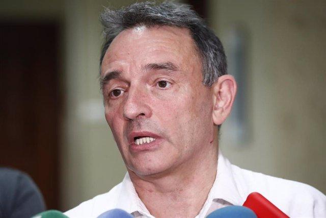 El diputado de IU, Enrique Santiago