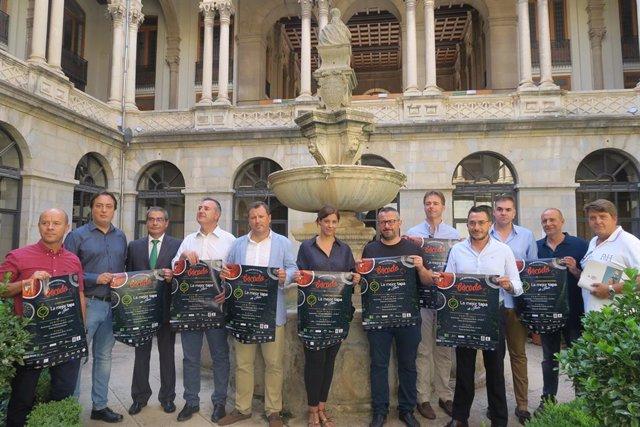 Presentación del II Concurso de la Mejor Tapa de Jaén