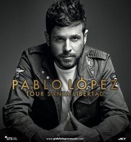 Cartel de la gira de Pablo López
