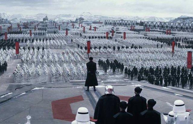 Primera Orden en Star Wars: Los últimos Jedi