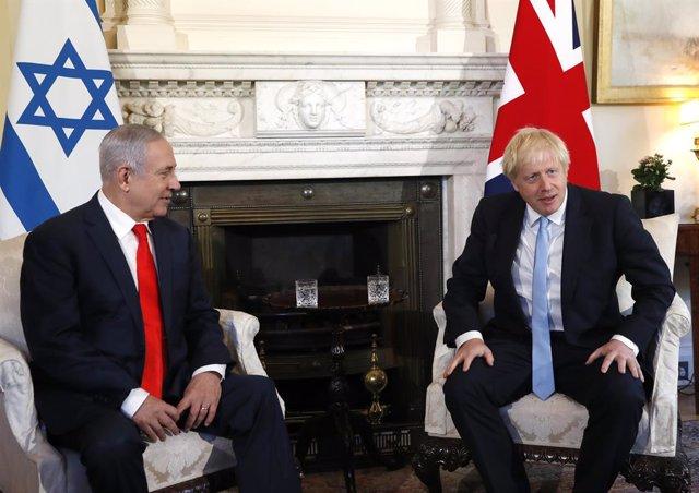 """O.Próximo.- Netanyahu agradece a Johnson su """"apoyo a Israel"""" en una reunión en D"""