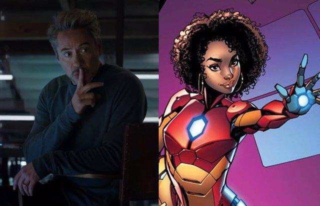 Iron Man e Ironheart